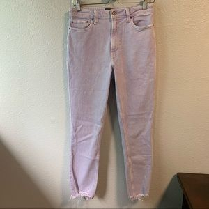 Lavender A&F Mom Jeans